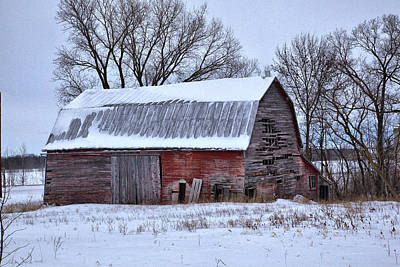 Photograph - Barn 4 by CA  Johnson