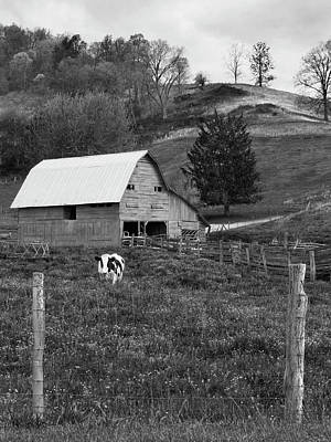 Farm Scenes Photograph - Barn 4 by Mike McGlothlen