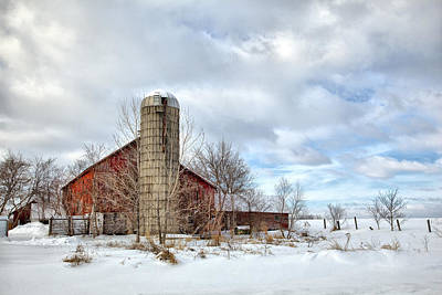 Photograph - Barn 5 by CA  Johnson