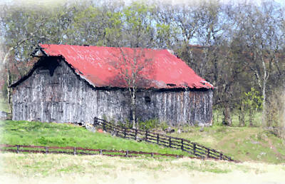 Photograph - Barn 5306-painting by Ericamaxine Price