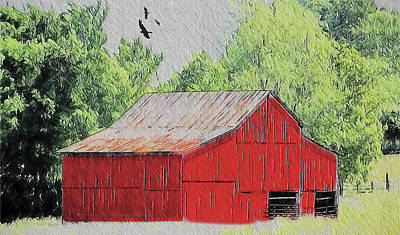 Photograph - Barn 6004 by Ericamaxine Price
