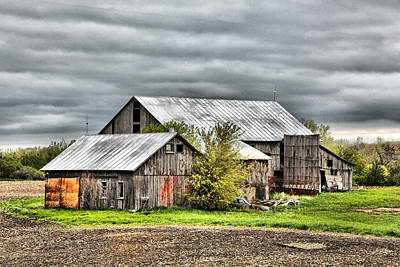 Photograph - Barn 7 by CA  Johnson