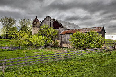Photograph - Barn 8 by CA  Johnson