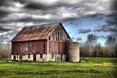 Photograph - Barn 9 by CA  Johnson