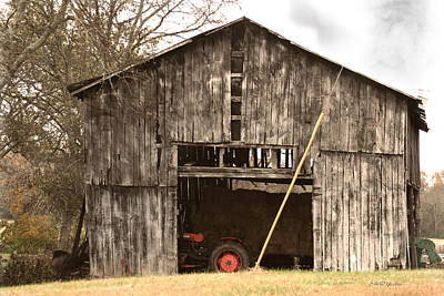 Photograph - Barn 94a by Ericamaxine Price