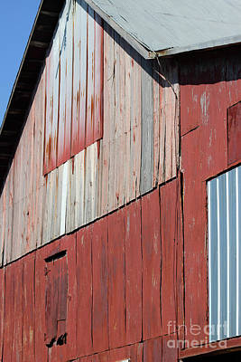 Photograph - Barn Abstract by Karen Adams