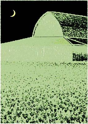 Barn Abstract Art Print