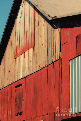 Digital Art - Barn Abstraction by Karen Adams
