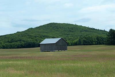 Nirvana - Barn and a Hill by Linda Kerkau
