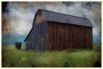 Photograph - Barn And Privy by Hugh Smith