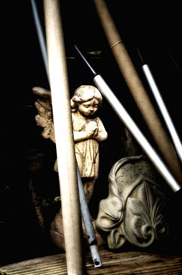 Barn Angel Art Print by Deb Cohen