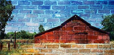 Photograph - Barn Art  by Bobbee Rickard