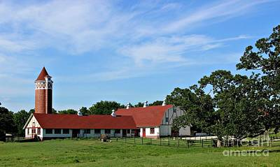 Photograph - Farm And Stables by Jenny Revitz Soper