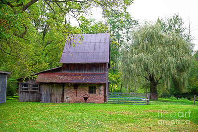 Photograph - Barn At The Cider Mill by David Arment