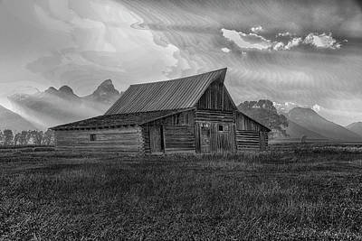 Photograph - Barn by Bill Hosford