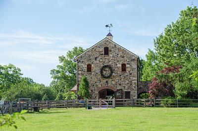 Barn Photograph - Barn - Chester County Pennsylvania by Bill Cannon