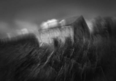 Abstract Movement Photograph - Barn by Chris Dale