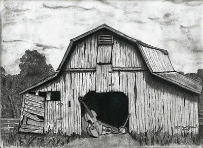 Nashville Tennessee Drawing - Barn Dance by Bruce Workman