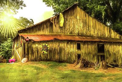 Photograph - Barn Deco by Barry Jones
