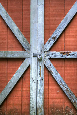 Barn Door 2 Art Print by Dustin K Ryan