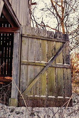 Photograph - Barn Door 2018-01-19_887 by Ericamaxine Price