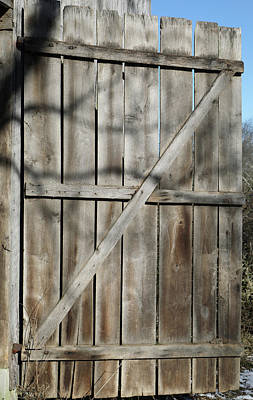 Photograph - Barn Door 994 by Ericamaxine Price