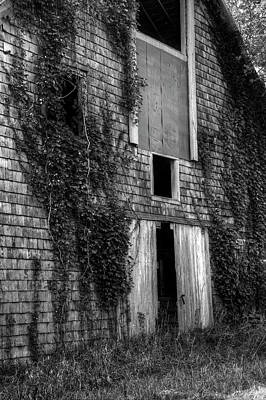 Photograph - Barn Door And Windows by Ester Rogers