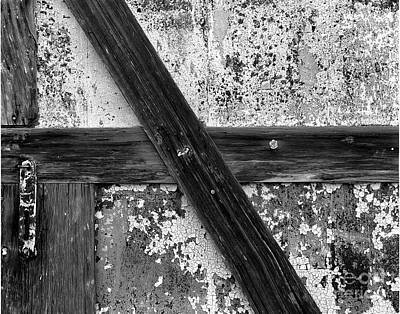 Cslanec Photograph - Barn Door by Christian Slanec