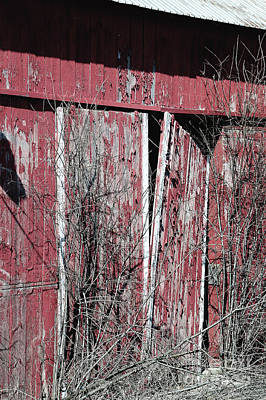 Photograph - Barn Door by Deborah Klubertanz