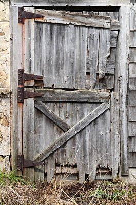 Photograph - Barn Door by Jill Battaglia