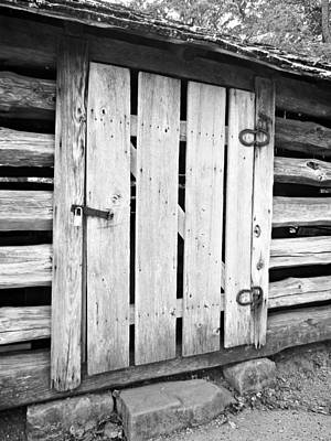 Photograph - Barn Door by Jo Jurkiewicz
