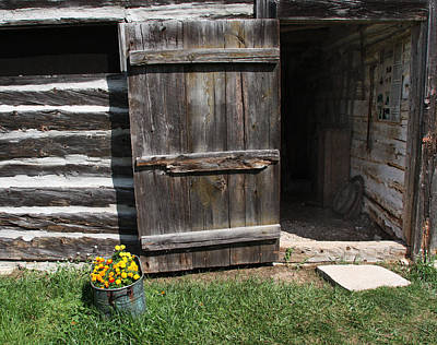 Art Print featuring the photograph Barn Door by Joanne Coyle