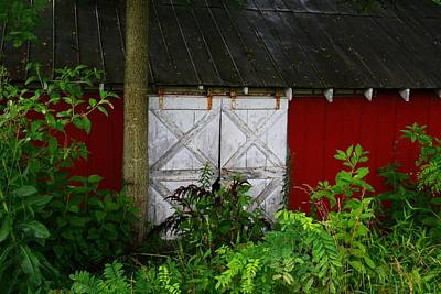 Photograph - Barn Door by Kathryn Meyer
