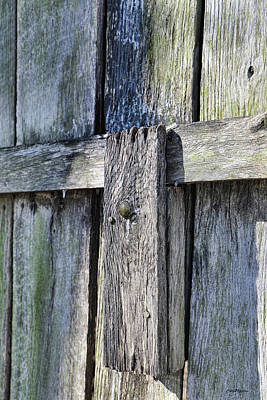 Photograph - Barn Door Lock 2018-01-19_991 by Ericamaxine Price