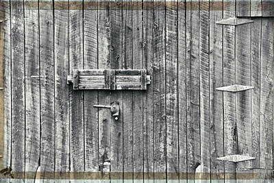 Photograph - Barn Door by Steve Archbold