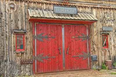 Photograph - Barn Excelsior In Buena Vista, Colorado  by Bijan Pirnia