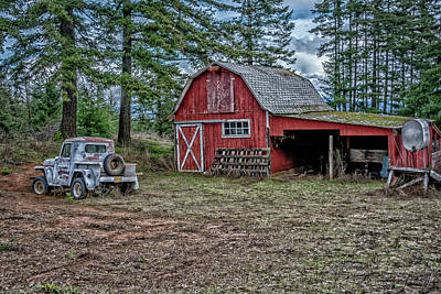 Photograph - Barn Find by Bill Posner