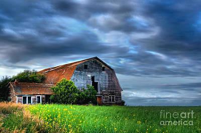 Mean Photograph - Barn by Ian MacDonald