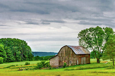 Barn In Bliss Township Print by Bill Gallagher