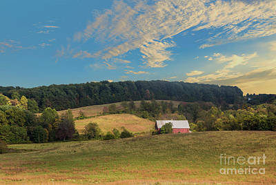Photograph - Barn In Field by Malcolm L Wiseman III