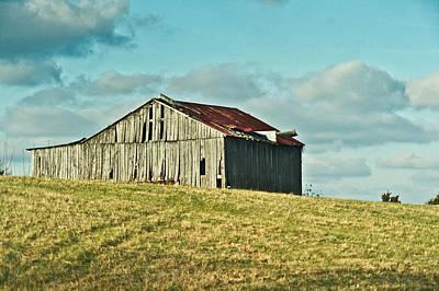 Photograph - Barn In Ill Repir by Douglas Barnett