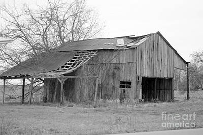 Monochrome Landscapes - Barn in Kentucky no 47 by Dwight Cook