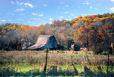 Photograph - Barn In Liberty Mo by Steve Karol