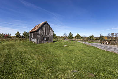 Photograph - Barn In The Country by Josef Pittner