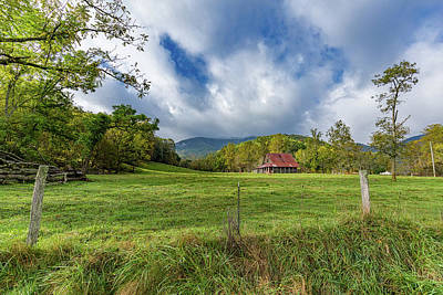 Photograph - Barn In The Meadow by Tim Stanley
