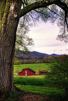 Photograph - Barn In The Valley by Greg Mimbs