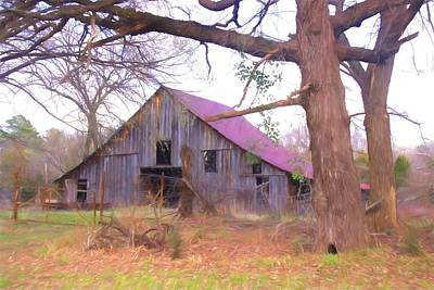Photograph - Barn In The Valley by Susan Crossman Buscho