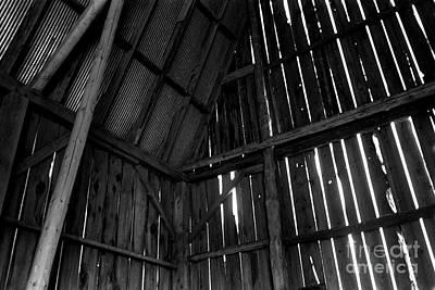 Barn Inside Art Print