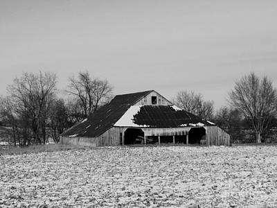 Photograph - Barn  by J L Zarek