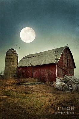 Photograph - Barn by Jill Battaglia